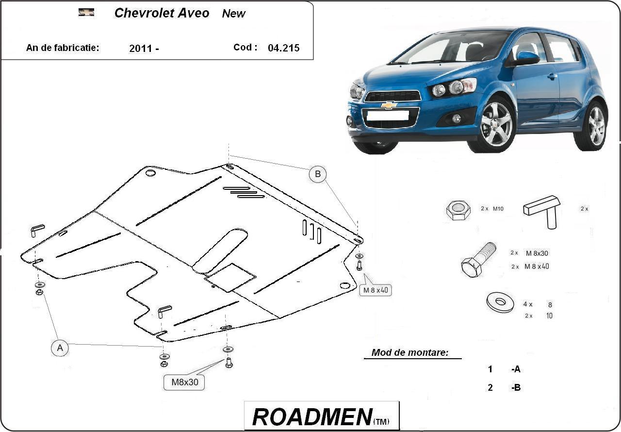 motor cu scut Chevrolet - Aveo new