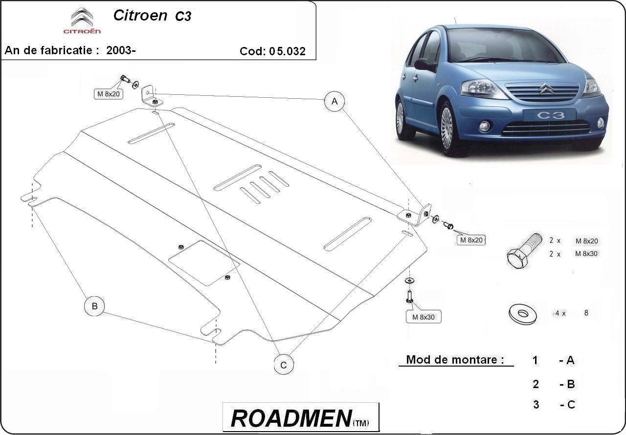 motor cu scut Citroen - C3
