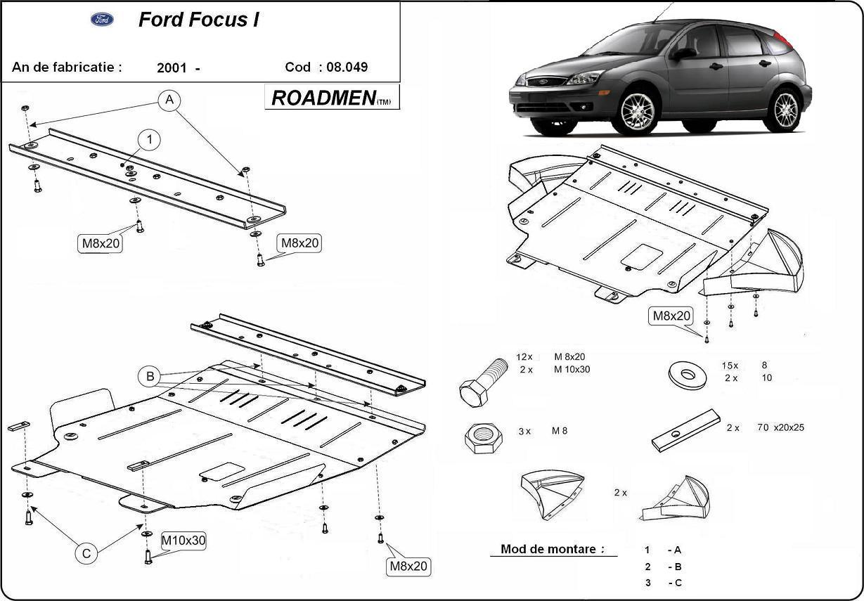 motor cu scut Ford - Focus