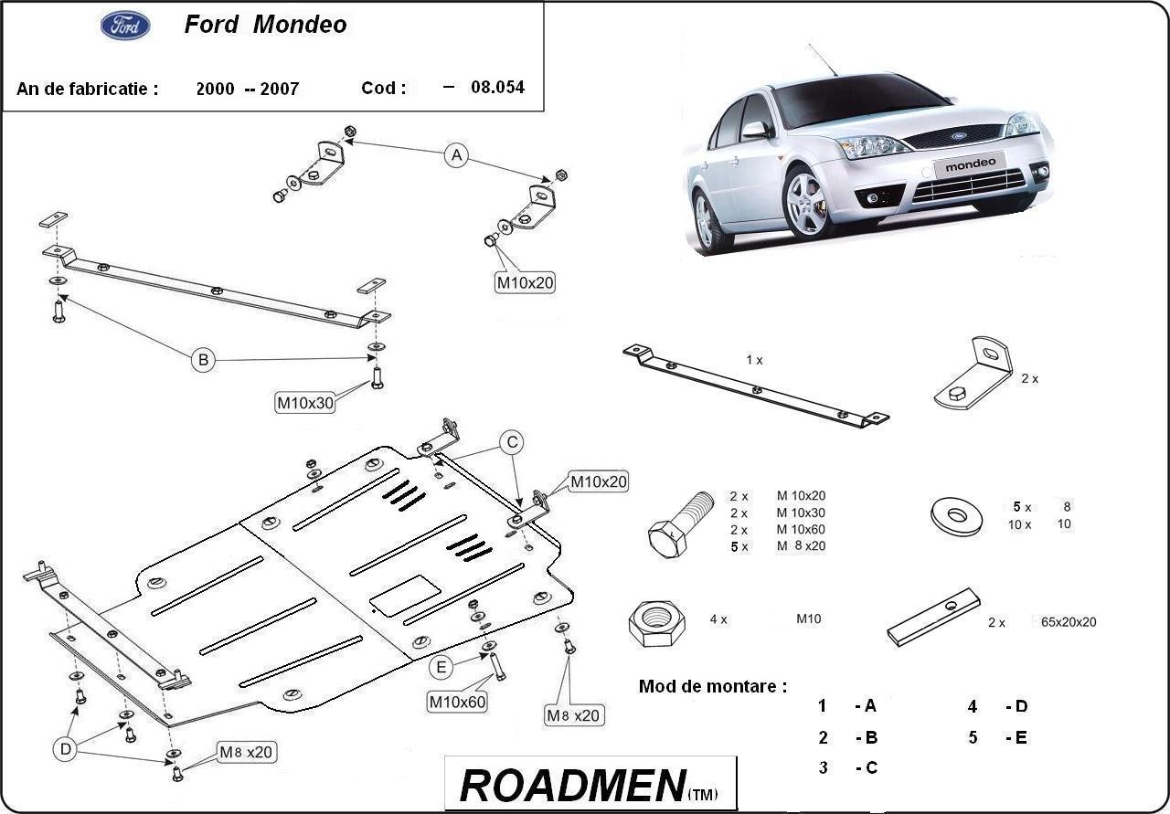 motor cu scut Ford - Mondeo II