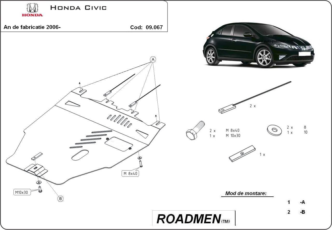 motor cu scut Honda - Civic