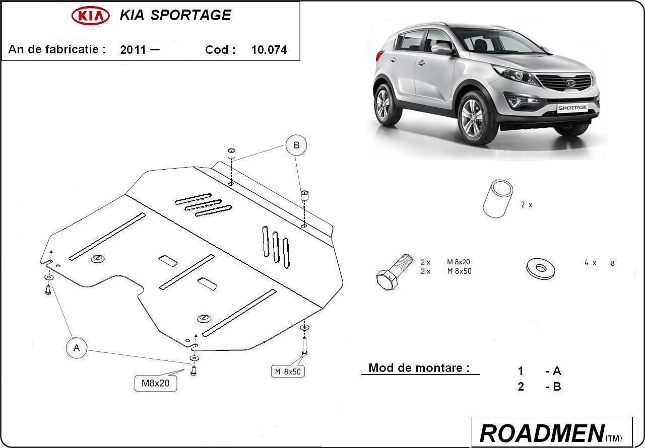 motor cu scut Kia - Sportage new
