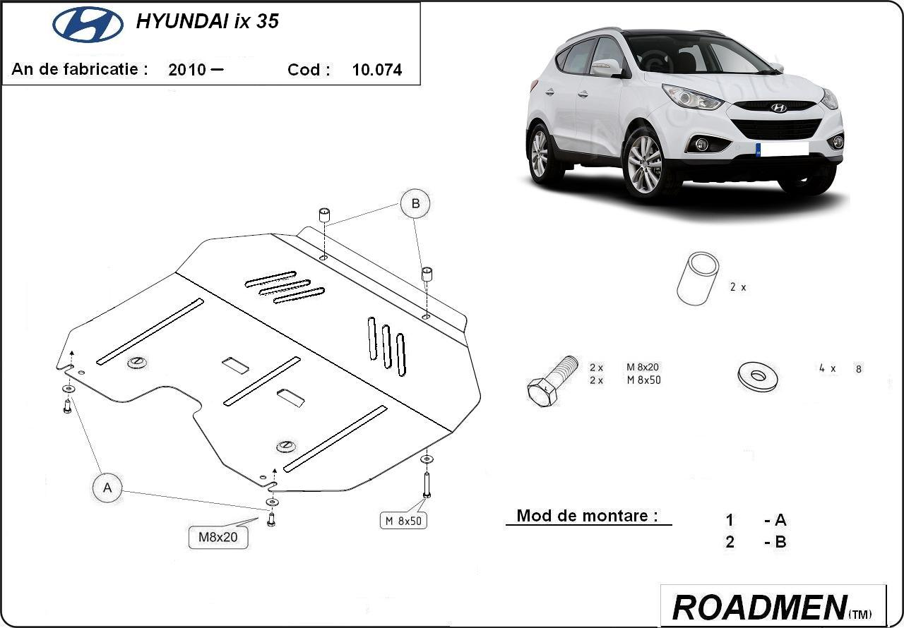 motor cu scut Hyundai - ix 35