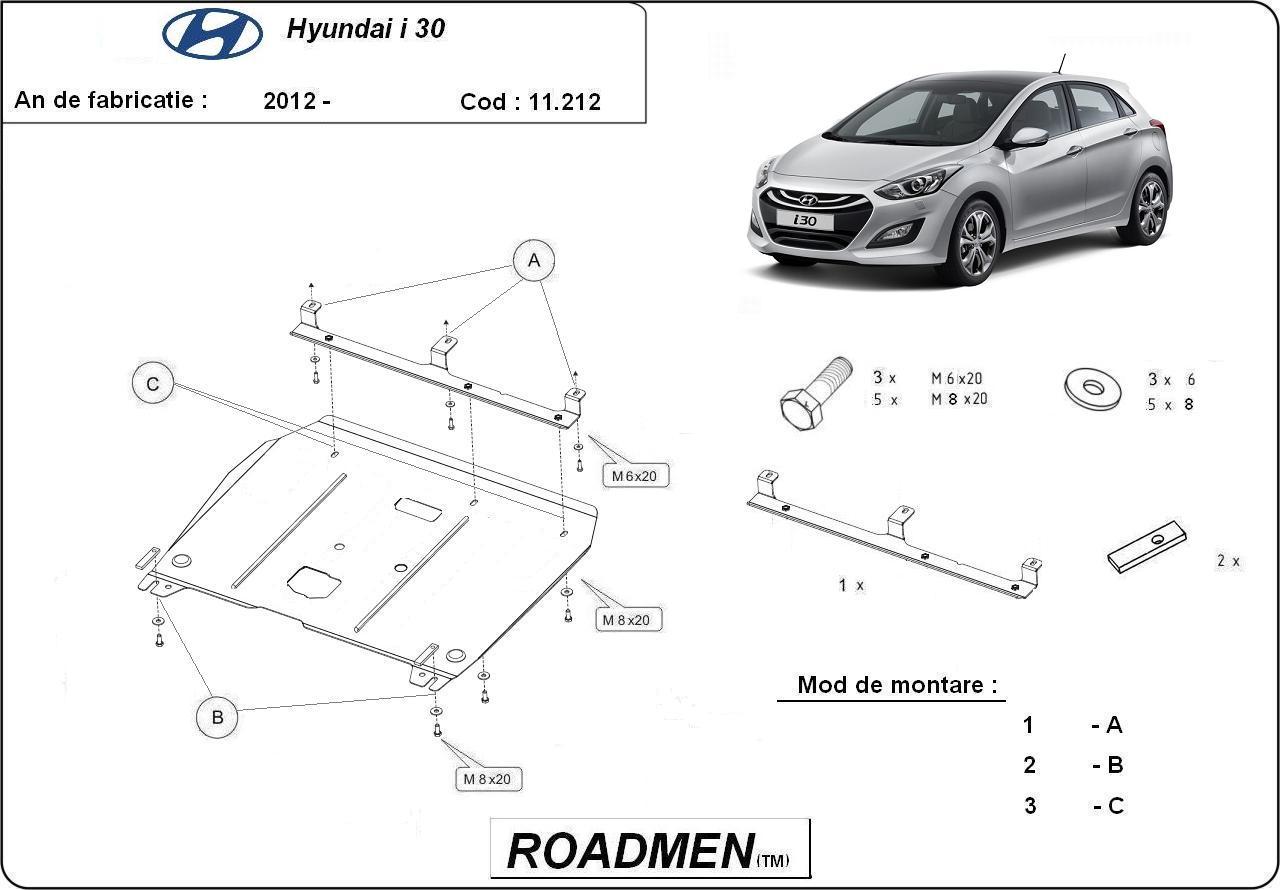 motor cu scut Hyundai - i 30 new