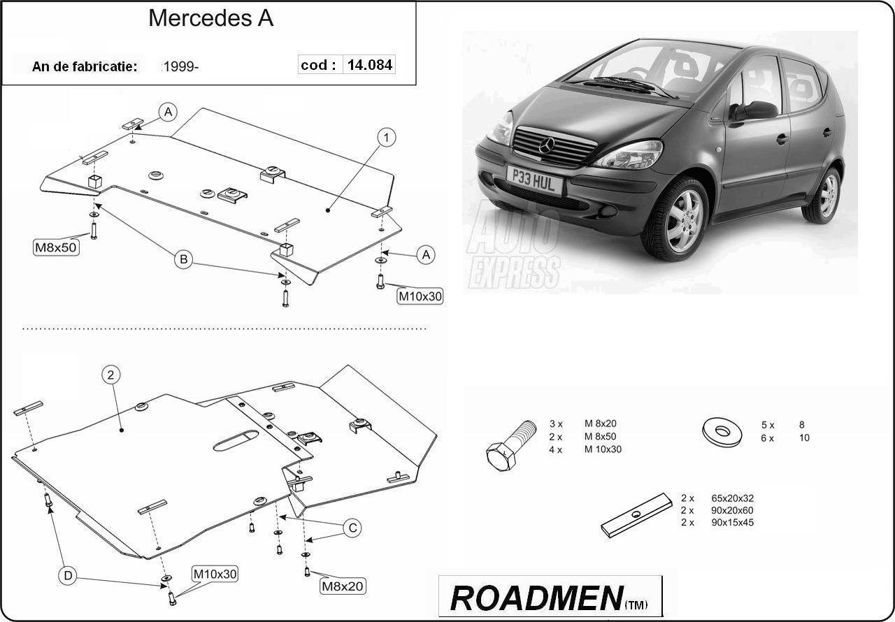 motor cu scut Mercedes - A classe 2