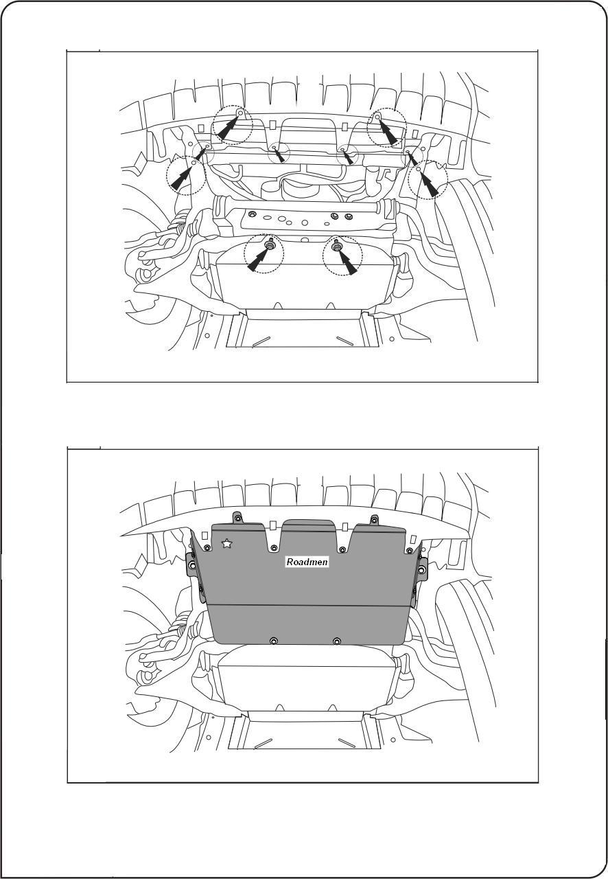 motor fără scut Nissan - Navara-radiator