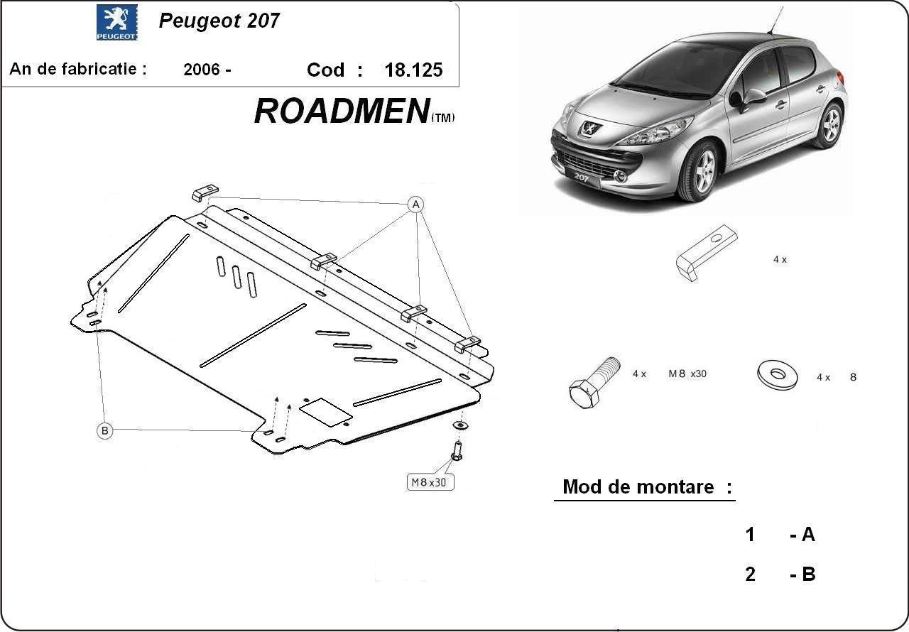 motor cu scut Peugeot - 207