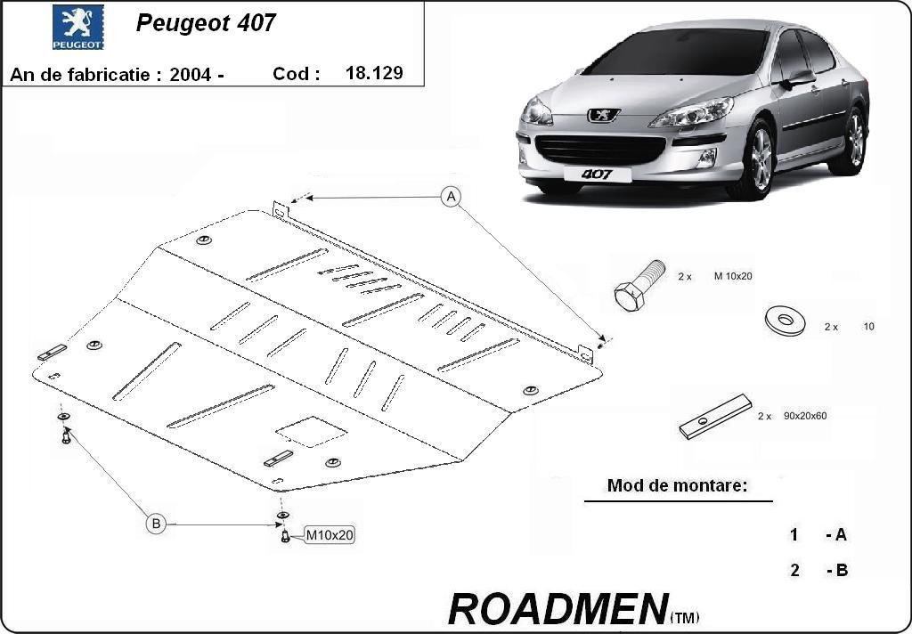 motor cu scut Peugeot - 407