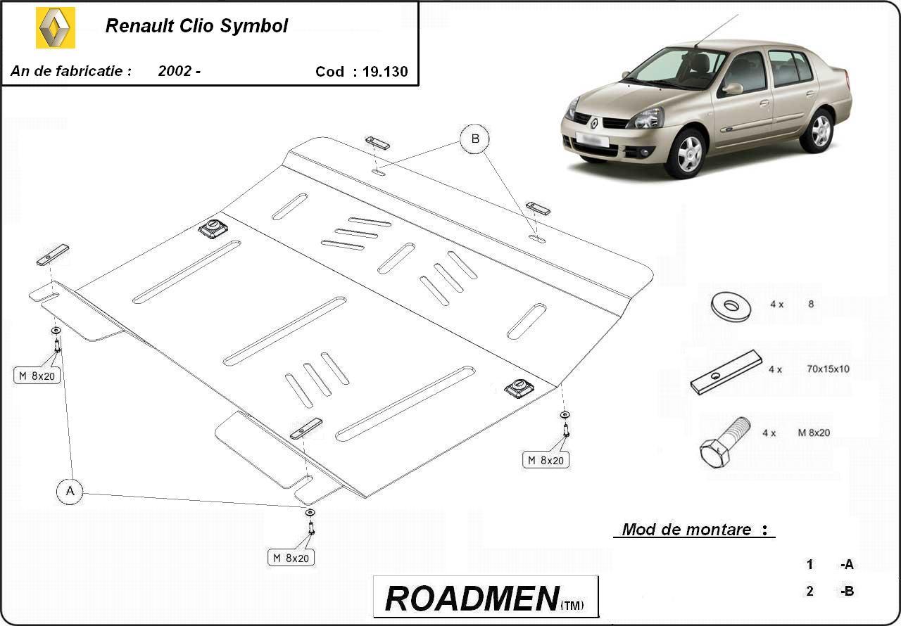 motor cu scut Renault - Clio Simbol