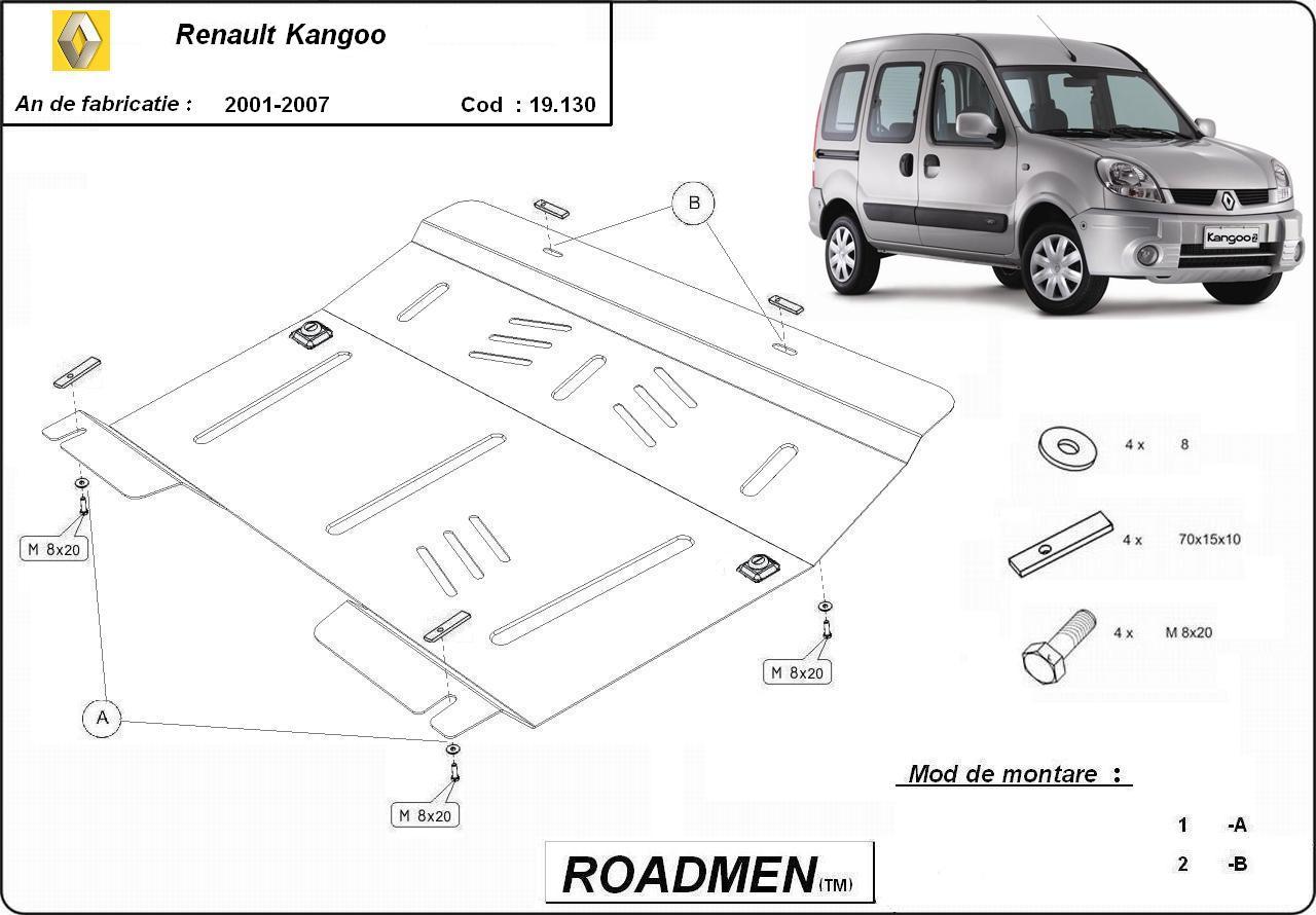 motor cu scut Renault - Kangoo