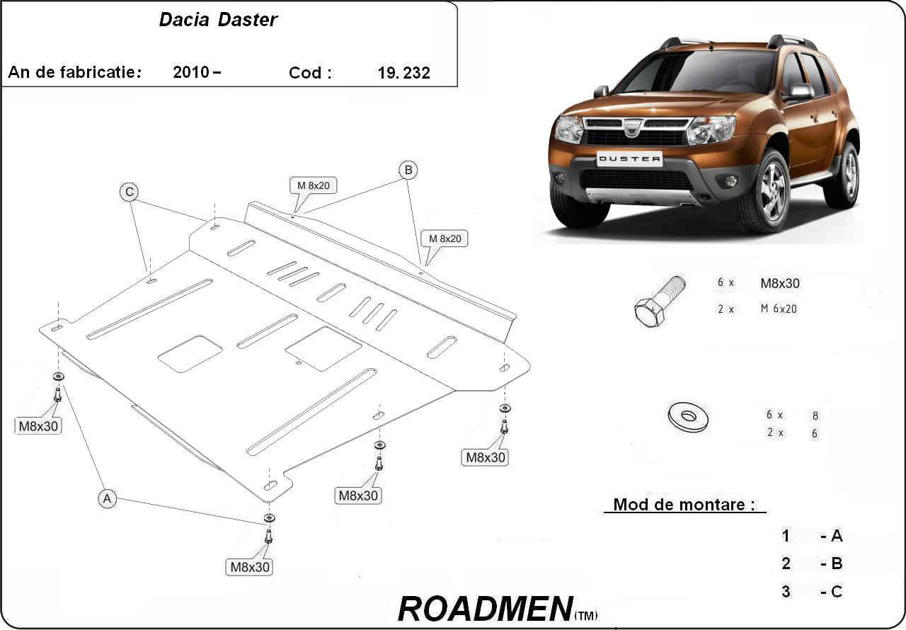 motor cu scut Dacia - Duster