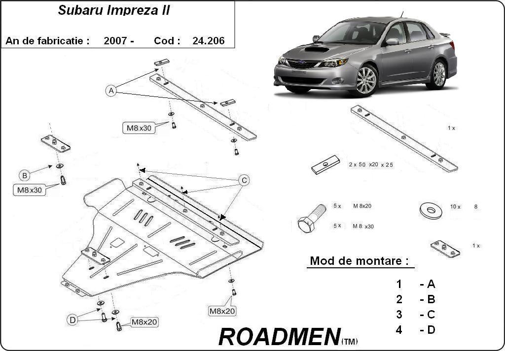 motor cu scut Subaru - Impreza