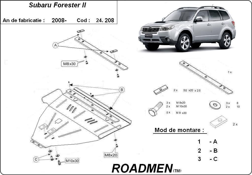 motor cu scut Subaru - Forester