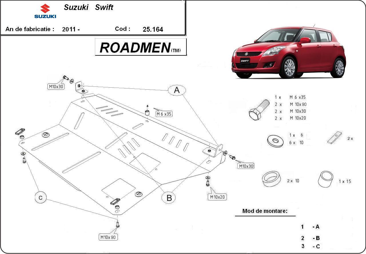 motor cu scut Suzuki - Swift new