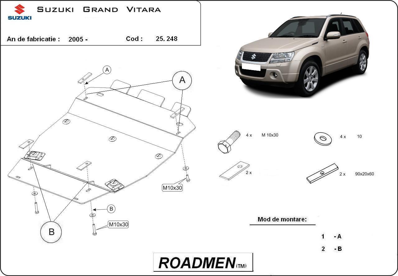 motor cu scut Suzuki - Grand Vitara