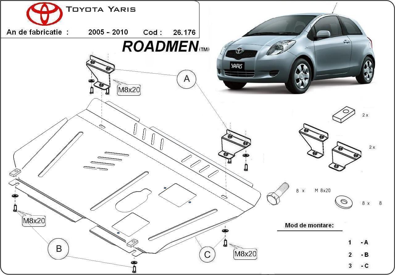 motor cu scut Toyota - Yaris benz