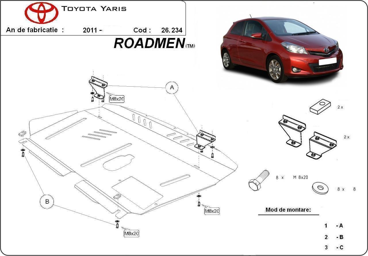 motor cu scut Toyota - Yaris new