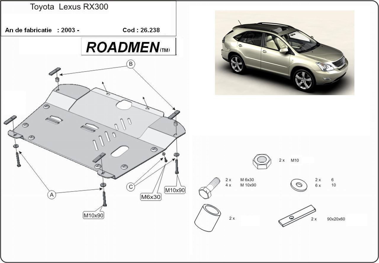 motor cu scut Lexus - RX 300