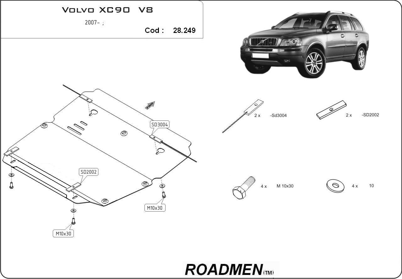 motor cu scut Volvo - XC90