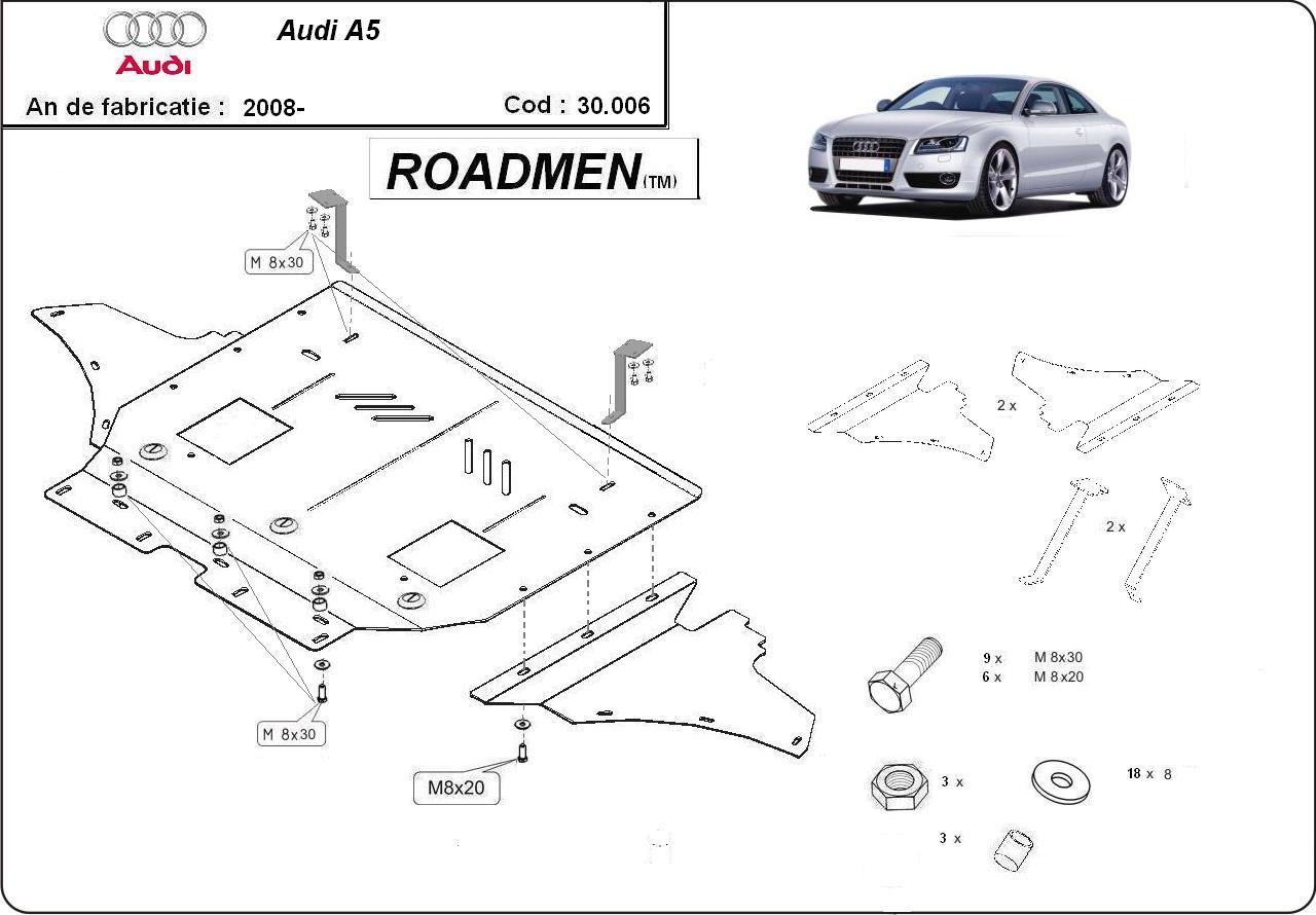 motor cu scut Audi - A5