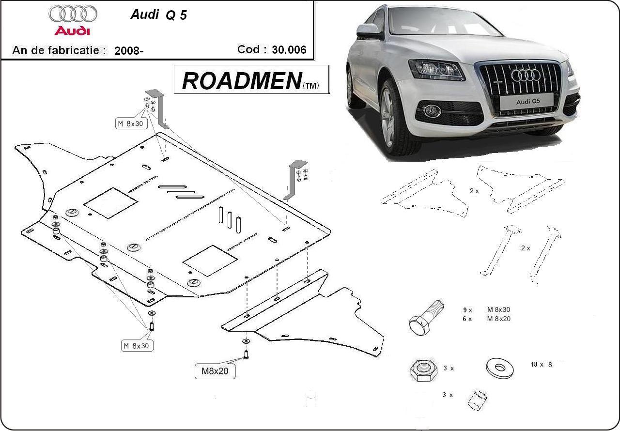 motor cu scut Audi - Q5