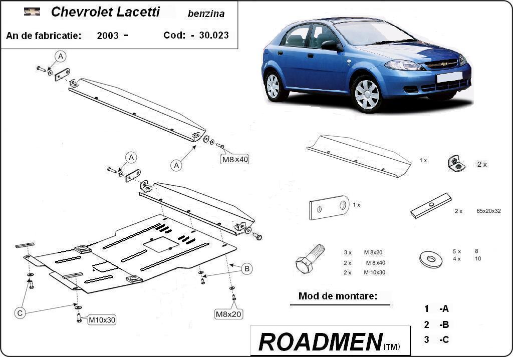 motor cu scut Chevrolet - Lacetti