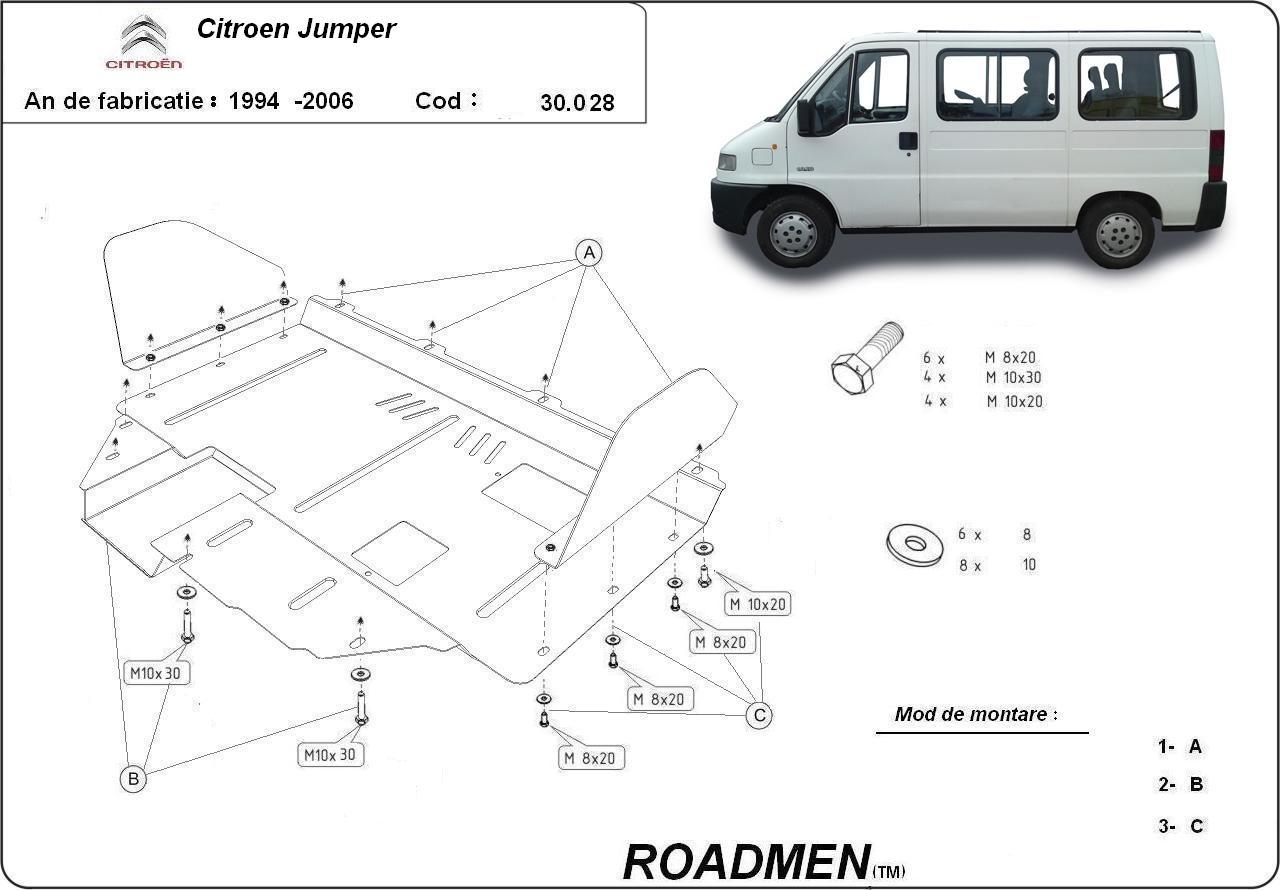 motor cu scut Citroen - Jumper
