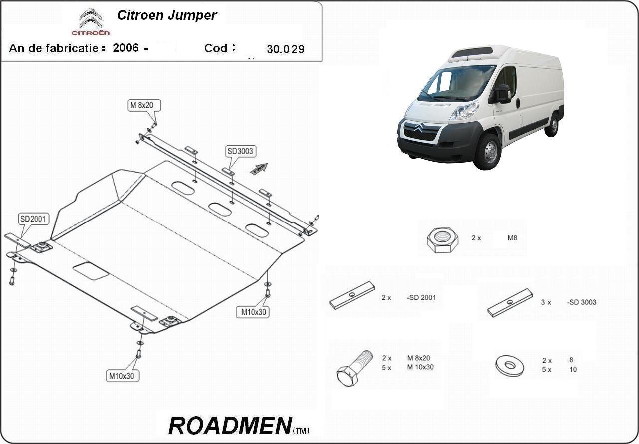 motor cu scut Citroen - Jumper III