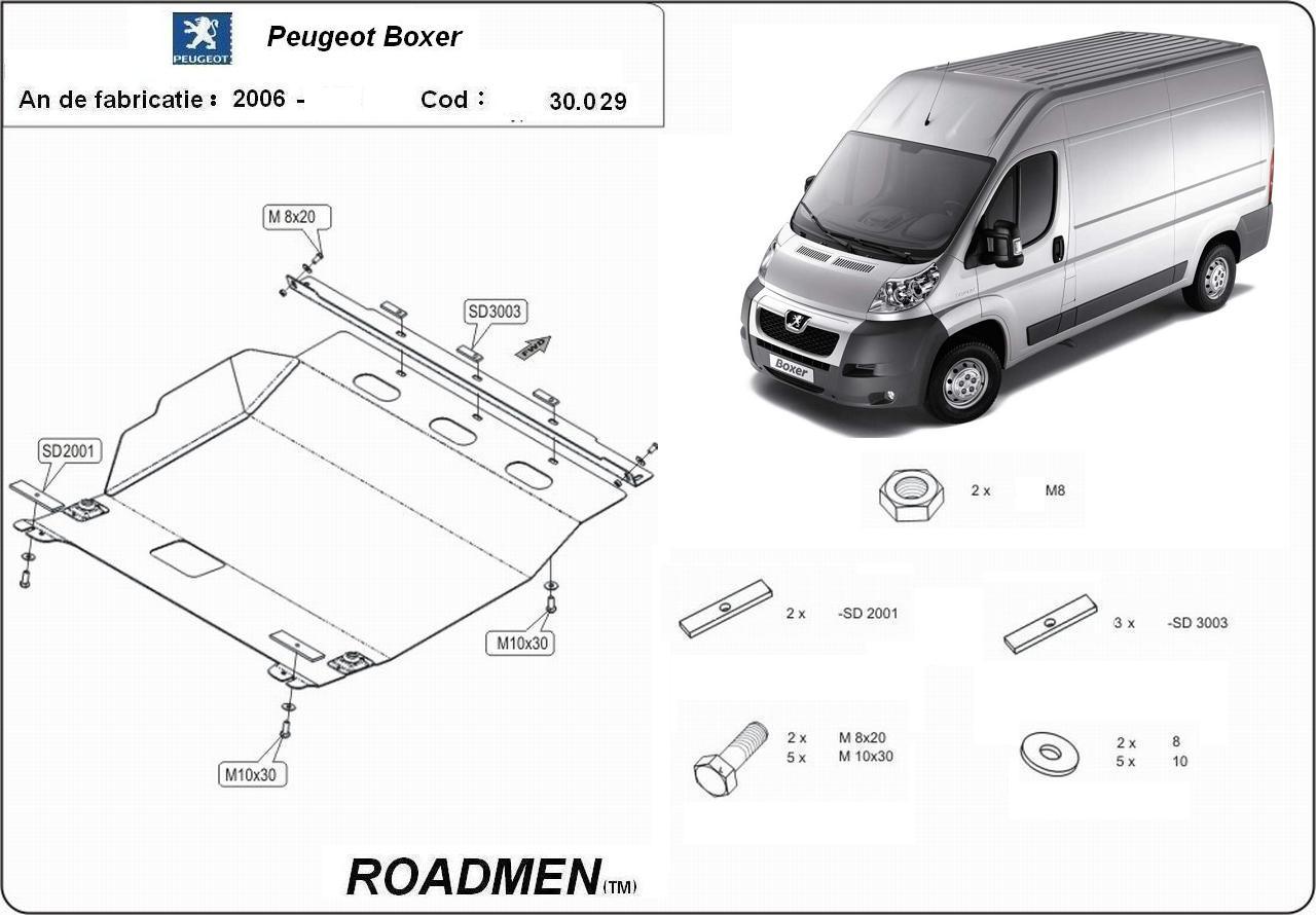 motor cu scut Peugeot - Boxer III