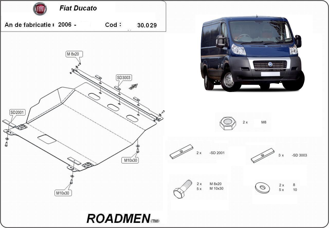 motor cu scut Fiat - Ducato III