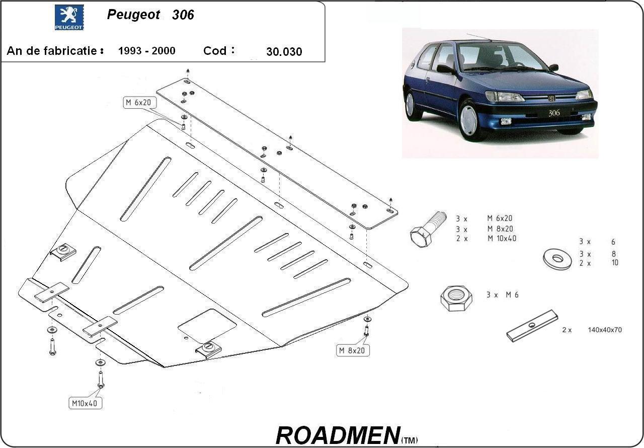 motor cu scut Peugeot - 306