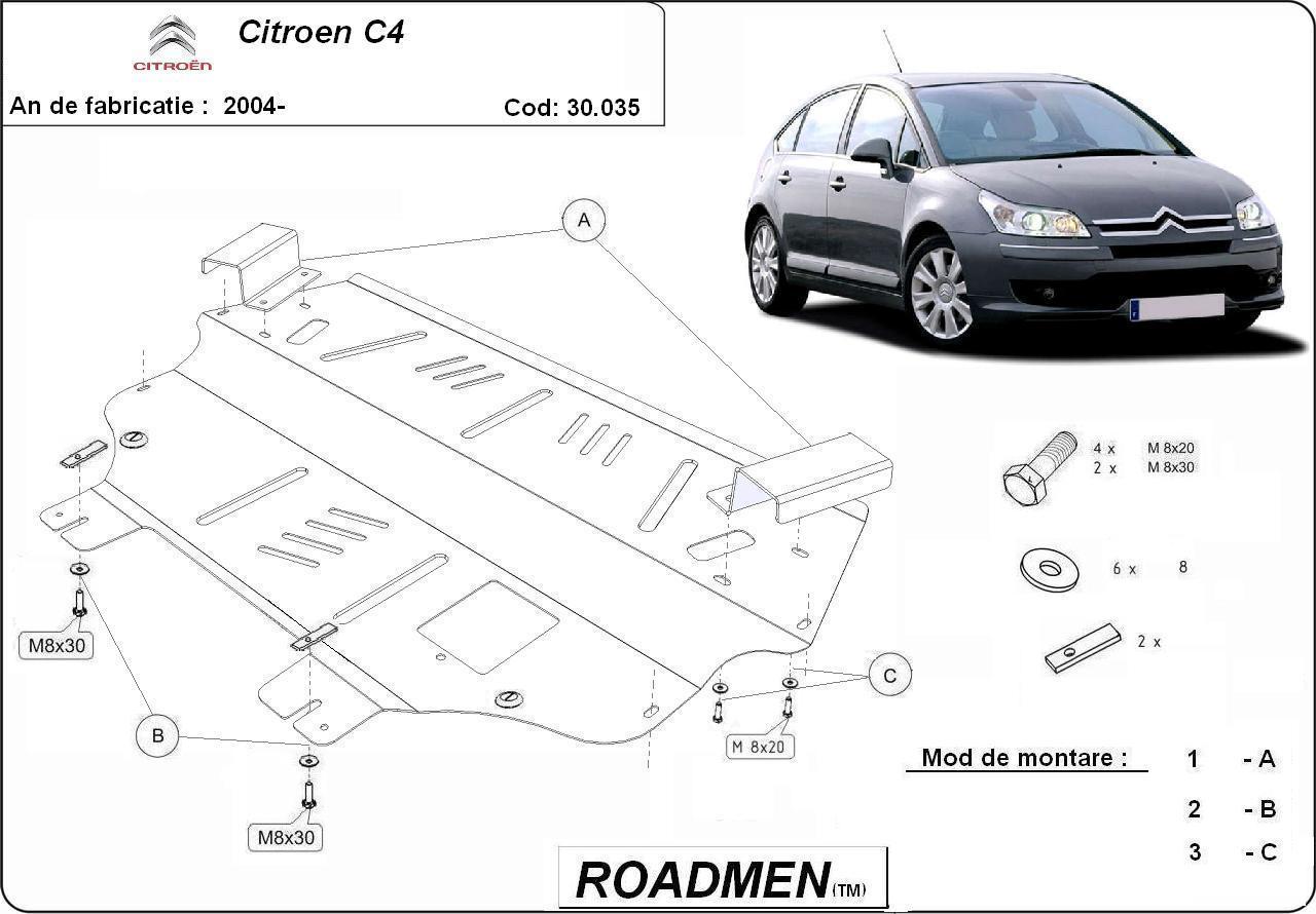 motor cu scut Citroen - C4