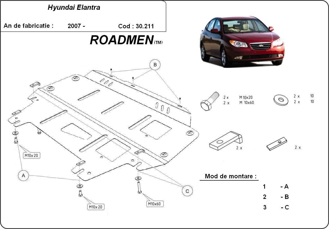 motor cu scut Hyundai - Elantra