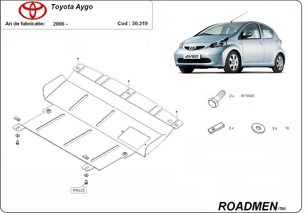 motor cu scut Toyota - Aygo