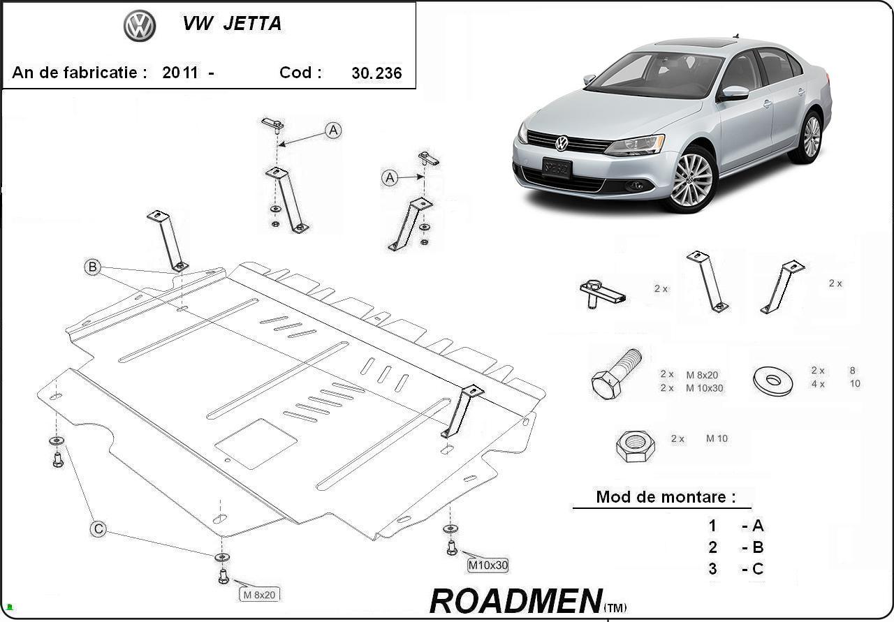 motor cu scut Volkswagen - Jetta new
