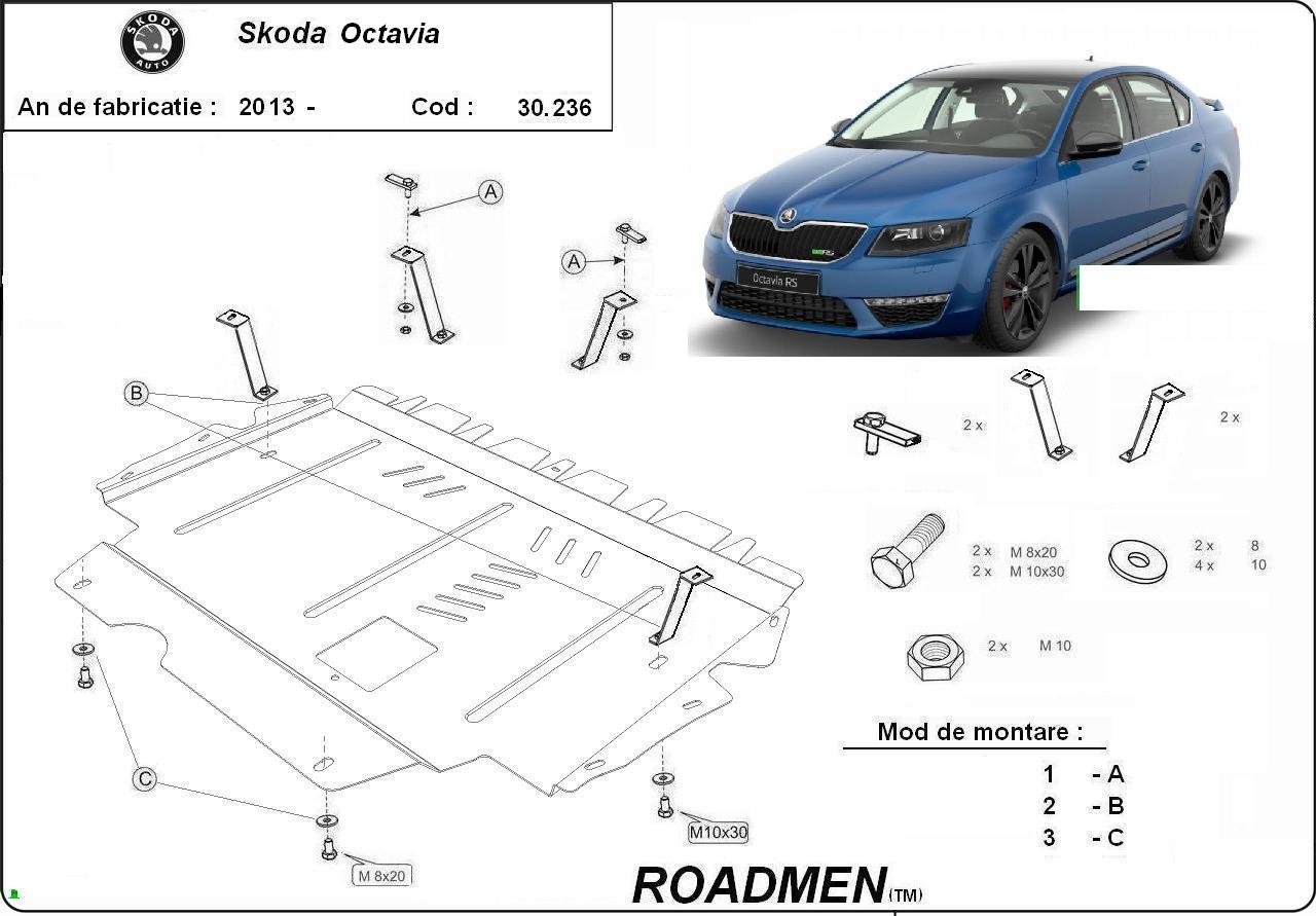 motor cu scut Skoda - Octavia III