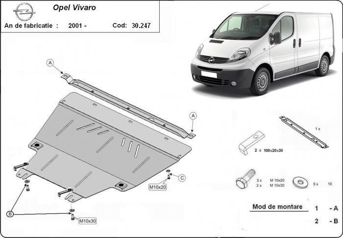 motor cu scut Renault - Trafic