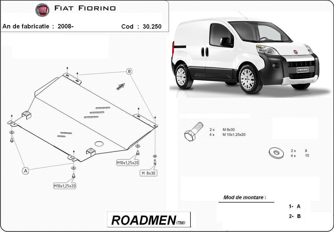 motor cu scut Fiat - Fiorino