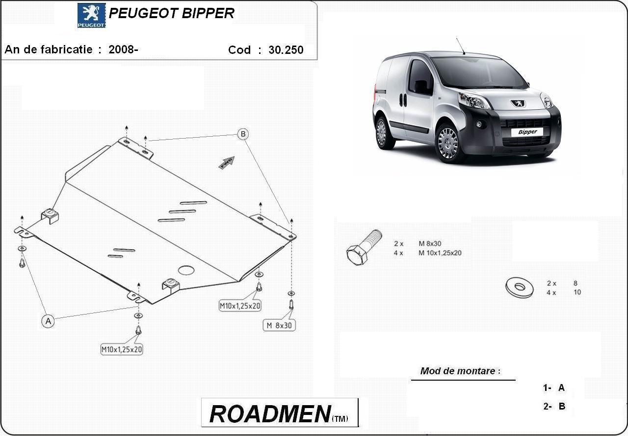 motor cu scut Peugeot - Bipper