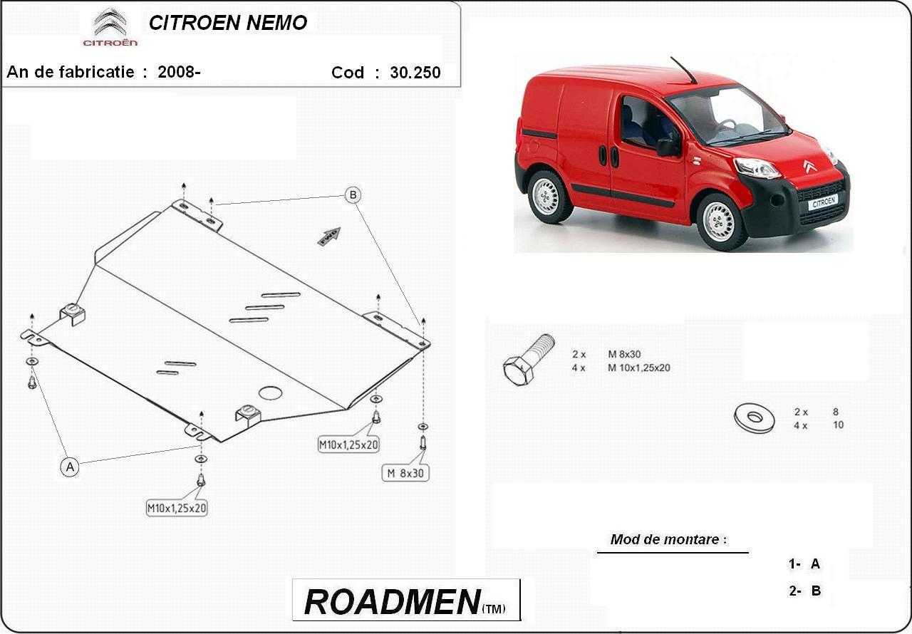 motor cu scut Citroen - Nemo