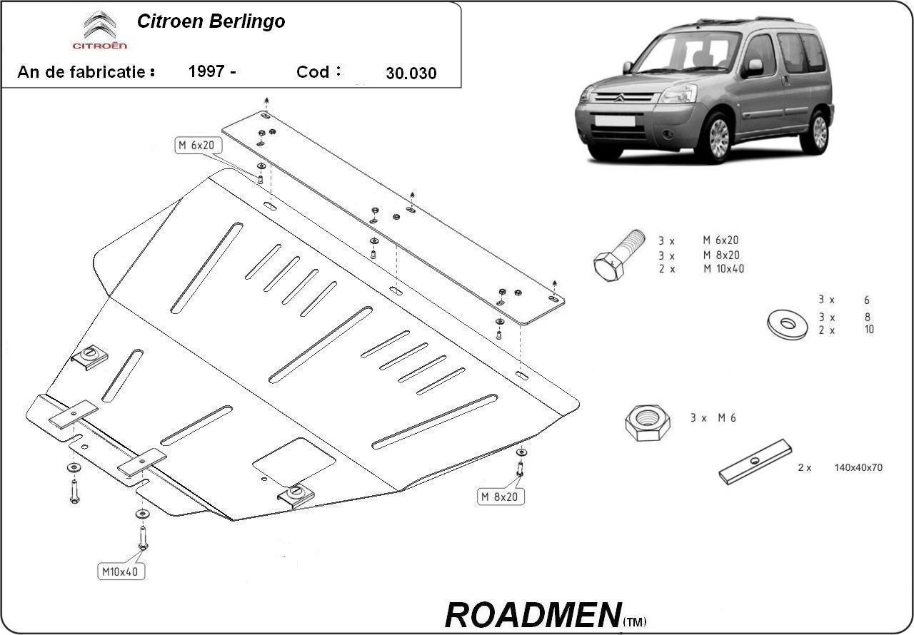 motor cu scut Citroen - Berlingo
