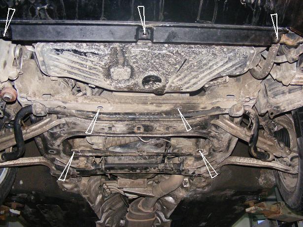 motor fără scut Audi - A8