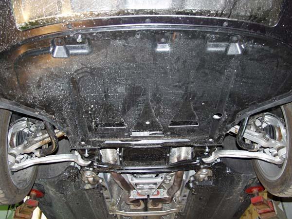 motor fără scut Audi - Allroad