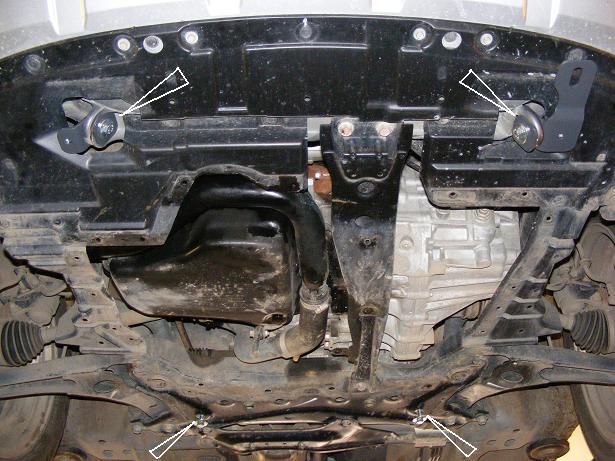 motor fără scut Citroen - C Crosser
