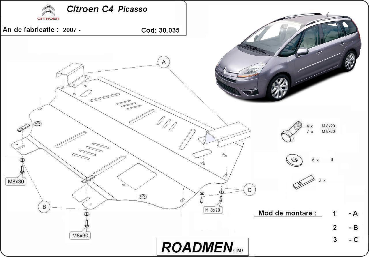 motor cu scut Citroen - C4 picasso