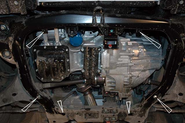 motor fără scut Hyundai - Elantra