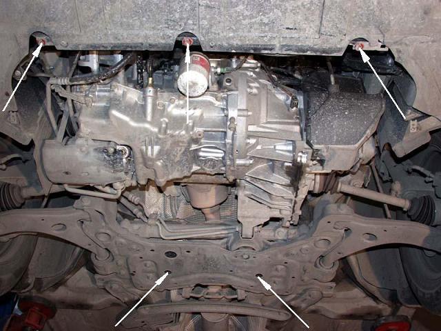 motor fără scut Ford - Focus III