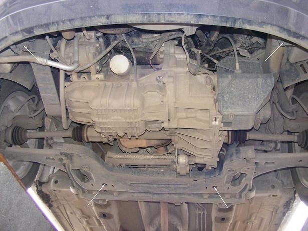 motor fără scut Ford - Fusion
