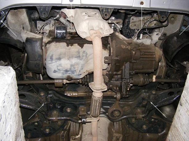 motor fără scut Fiat - Punto