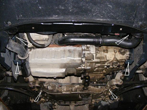 motor fără scut Volkswagen - Caddy II